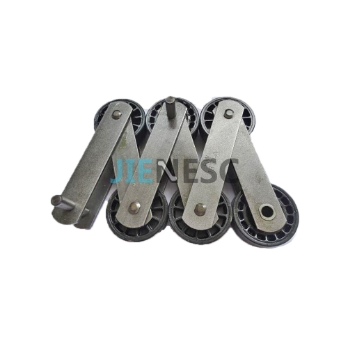 DEE3685365 Kone Escalator Chain 13RI-A with Faigle 75mm Roller