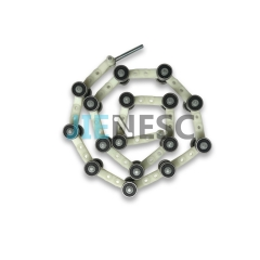 50645230 Escalator Newel Chain, 32 Rollers PA6.6-30GF