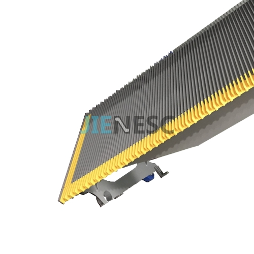 LR1000K-4 Aluminum Step for Sjec Escalator, with Plastic Yellow Insert 1000mm