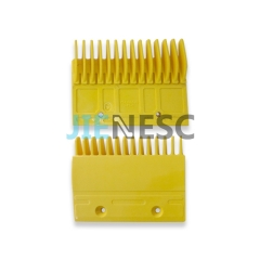 YS120B976 yellow escalator comb plate for Mitsubishi