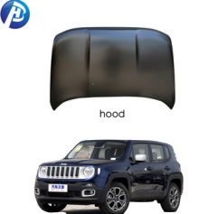 Top quality car body kits engine hood/door/fenderradiator support/bumper reinforcement for jeep renegade accessories