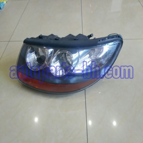 high quality auto body parts head light for SANTAFE 2008