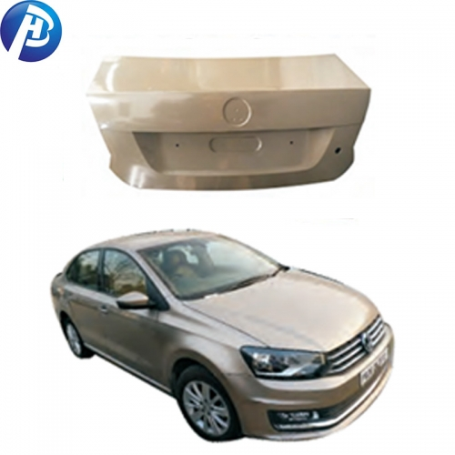 Top quality car body parts trunk lid for VW polo 2011
