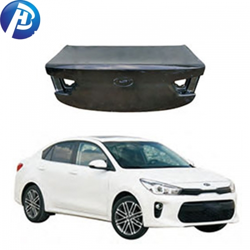 Top quality car body parts trunk lid for KIA RIO 2017