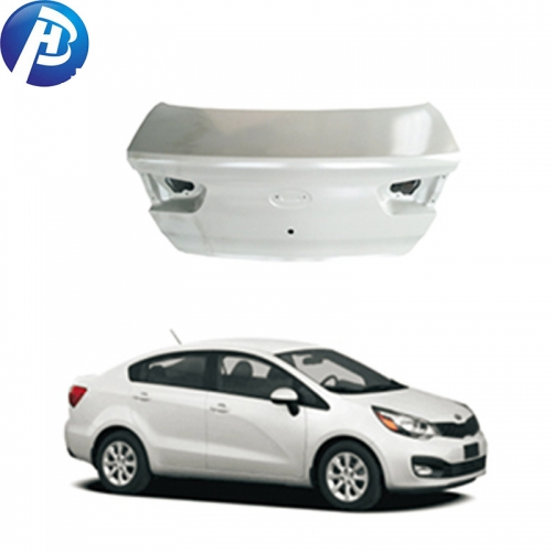 Top quality car body parts trunk lid for KIA RIO 2011