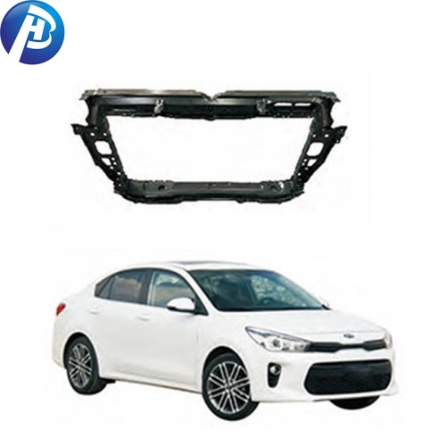 High Quality CAR BODY PARTS RADIATOR SUPPORT FOR KIA RIO 2017