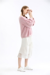 womens pullover sweater loose baggy knitwear