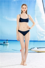 womens swim wear triangle bottom swim suit bikini suit two pieces bathing suit