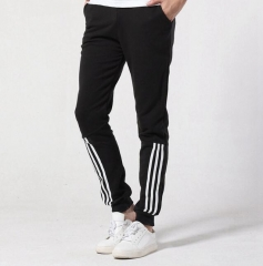 Mens cotton sport pants, knitted pants