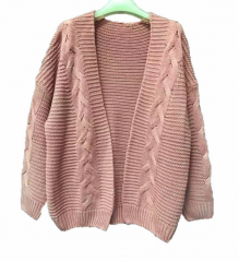 womens pullover sweater loose baggy knitwear cardigan