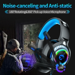 Headphones for computer games and internet cafes