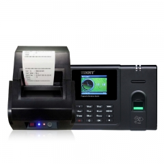 Fingerprint Reader Time Attendance With Printer