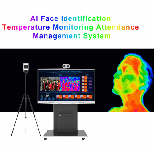 TBD1000 AI Face Identification Temperature Monitoring Attendance Management System