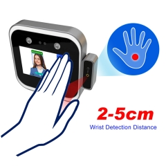 TM-DF05TW Non-contact Face Recognition Device RFID Card Palm Wrist Temperature Measurement Thermometer