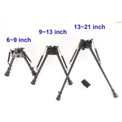 6-9/9-13/13-21 Inch Harris Bipod Tactical Rifle Bipod Heavy Duty Swivel Pivot W/O adapter