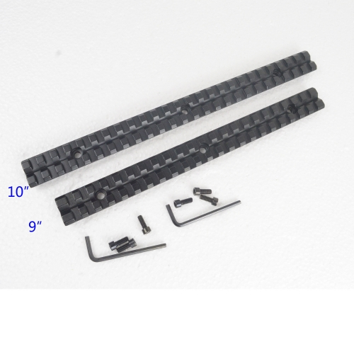 9 / 10 inch Long Picatinny Weaver Rail Mount Base