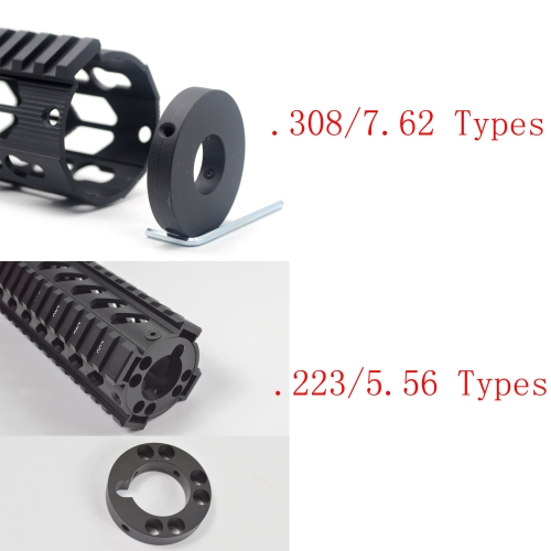 Front End Cap for Free Float Handguard with Screw .223/5.56(AR15) or .308/7.62(AR10) Optional