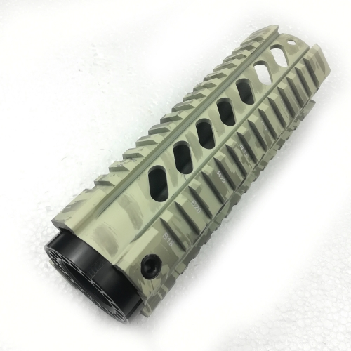 7 Inch Free Float Quad Rail Hnadguards For .223/5.56(AR15) System Camouflage (ACU) pattern