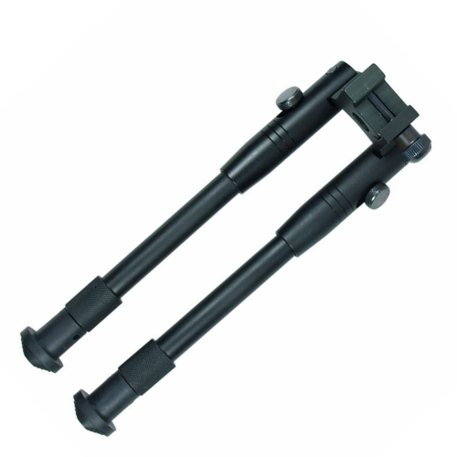 Compact  Bipod Tactical Hunting Shotgun/Rifle Picatinny Swivel Stud Mount Bipod