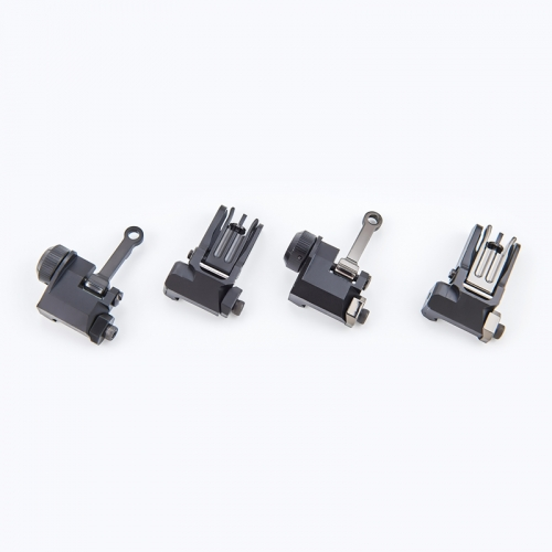 AR-15 COMBAT RIFLE FOLDING SIGHT SET
