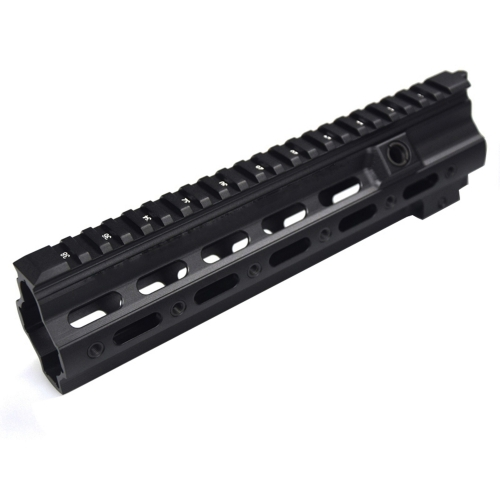 10.5 inch Aluminum Hard Coat Anodized GT Style 416 MLOK MOD Lite Handguard Rail System For AR AEG Airsoft M4 Paintball Receiver Gearbox