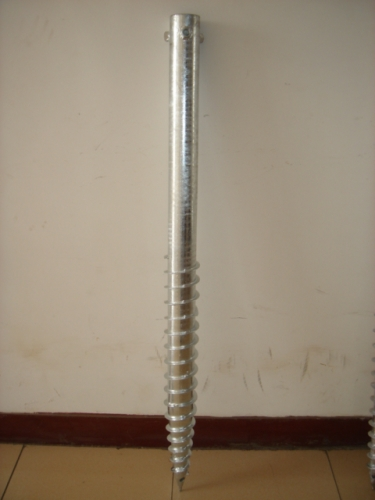 screw pole anchor