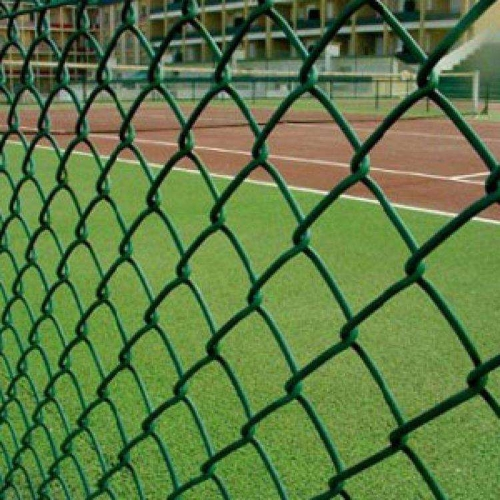 PVC Coated Steel Chain Link Fabric