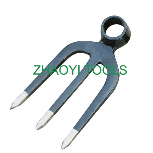 3T round hole forging impact digging fork-hoe