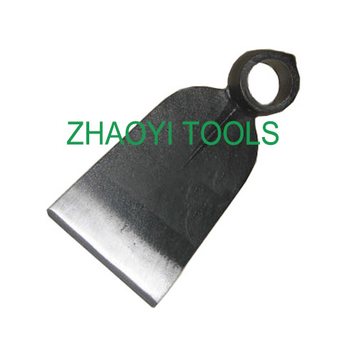 Italy type round hole forging spading grub digging garden hoe