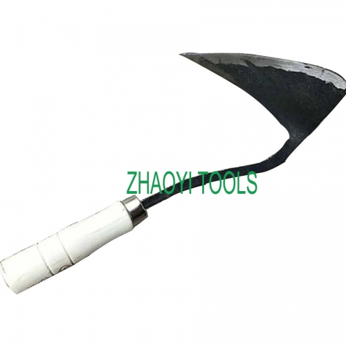 South Korea type forging grub digging earth weeding garden hoe