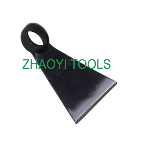 UK type triangle blade forging spading grub digging hoe