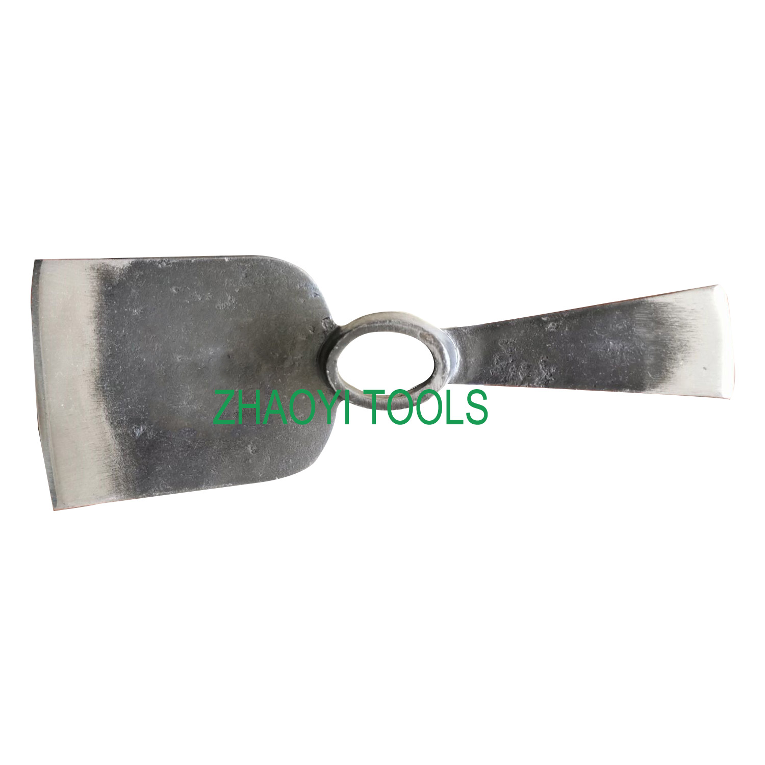 oval hole point chisel forging digging weeding garden pickaxes hoe