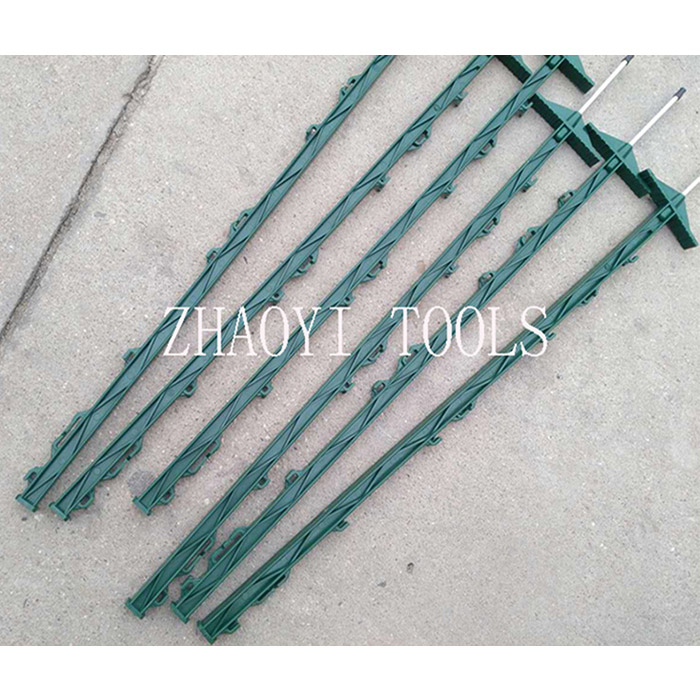 plastic step-in treading-in plug-in portable paddock fencing posts