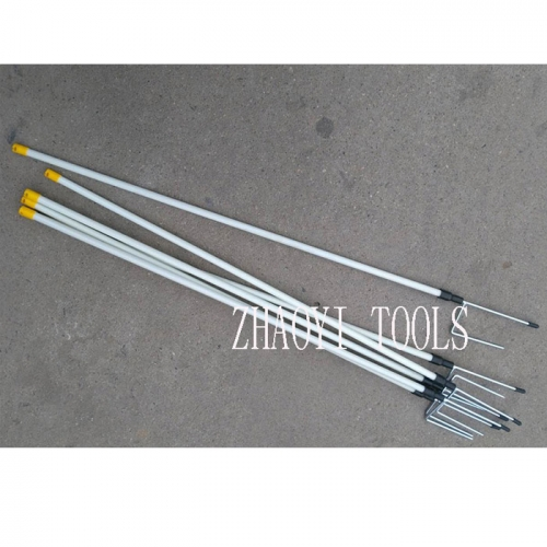 fiberglass step-in treading-in plug-in portable paddock fencing posts