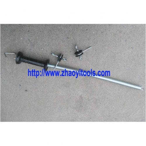 fencing gate pullback spring handle