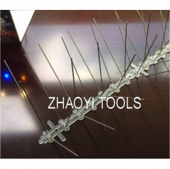 plastic+stainless steel spikes birds control spikes deterrents