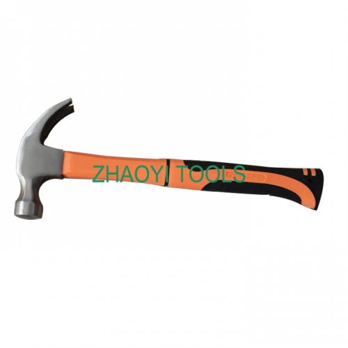 fiberglass handle forging claw hammer