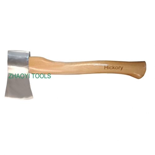 wood handle polished axes