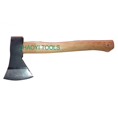 wood handle forged axes