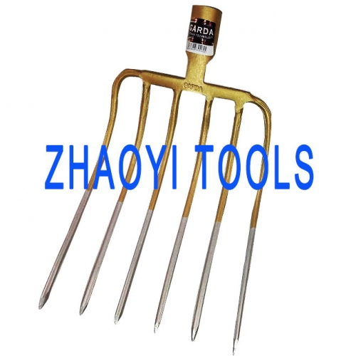 forging flat socket whole forging digging manure hay muck forks