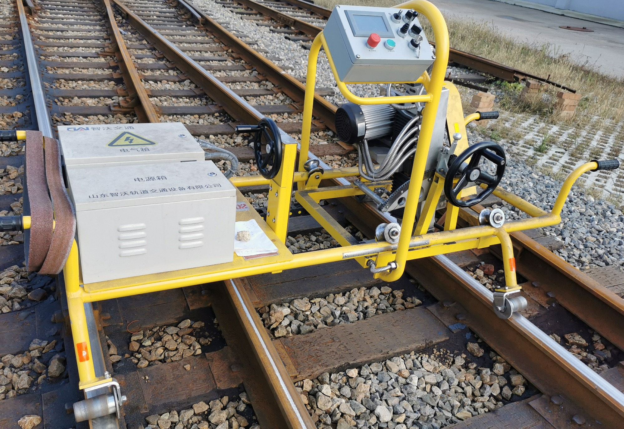 Lithium ion  Battery Powered Railway Track Sander