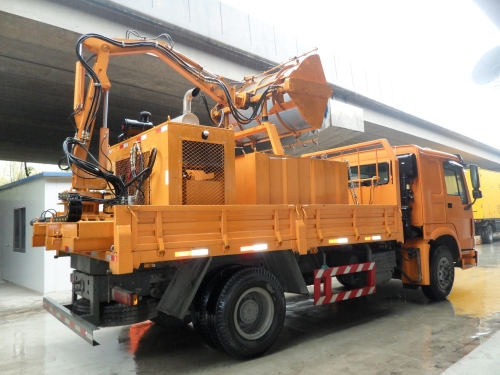 Tunnel Cleaning Machine
