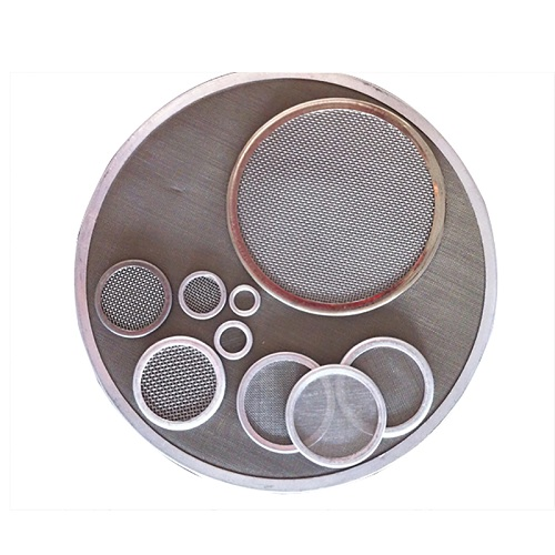 Wedge Wire Mesh Filter Leaf Disc