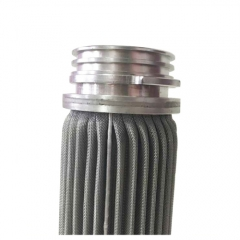 Stainless Steel Pleated Wire Mesh Filter