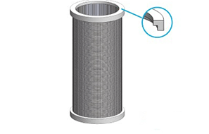 How to install the seal when installing the stainless steel filter element