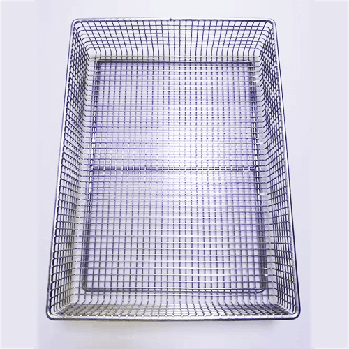 Stainless Steel Electric Welding Medical Disinfection Basket