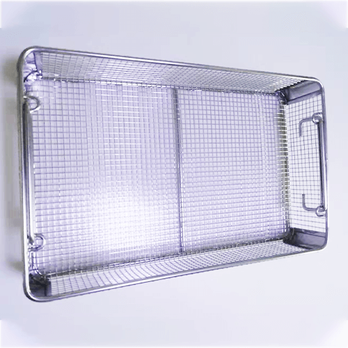 Stainless Steel Medical Corner Disinfection Basket