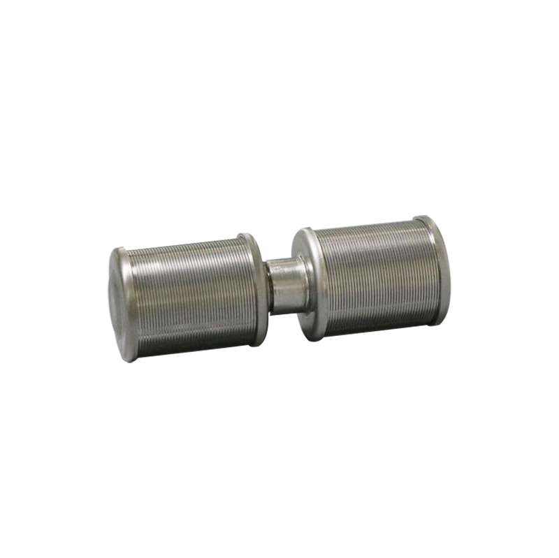 double wedge wire filter nozzle