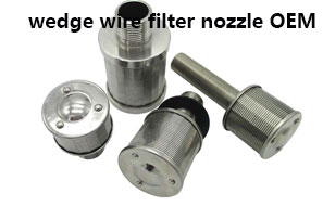 Wedge Wire Filter Nozzle for Industry Filtration