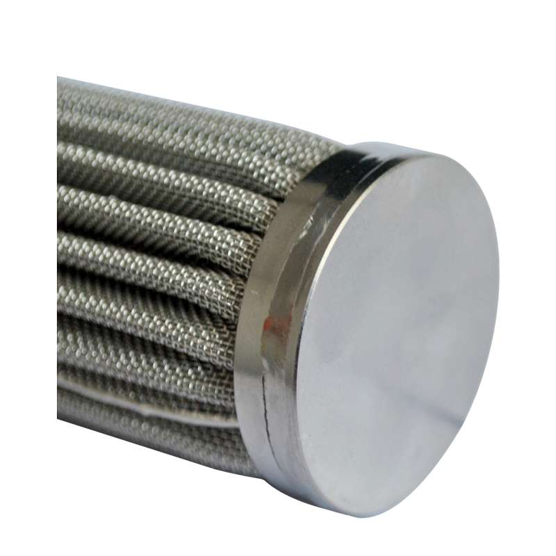 Stainless Steel Pleated Wire Mesh Filter Cartridge